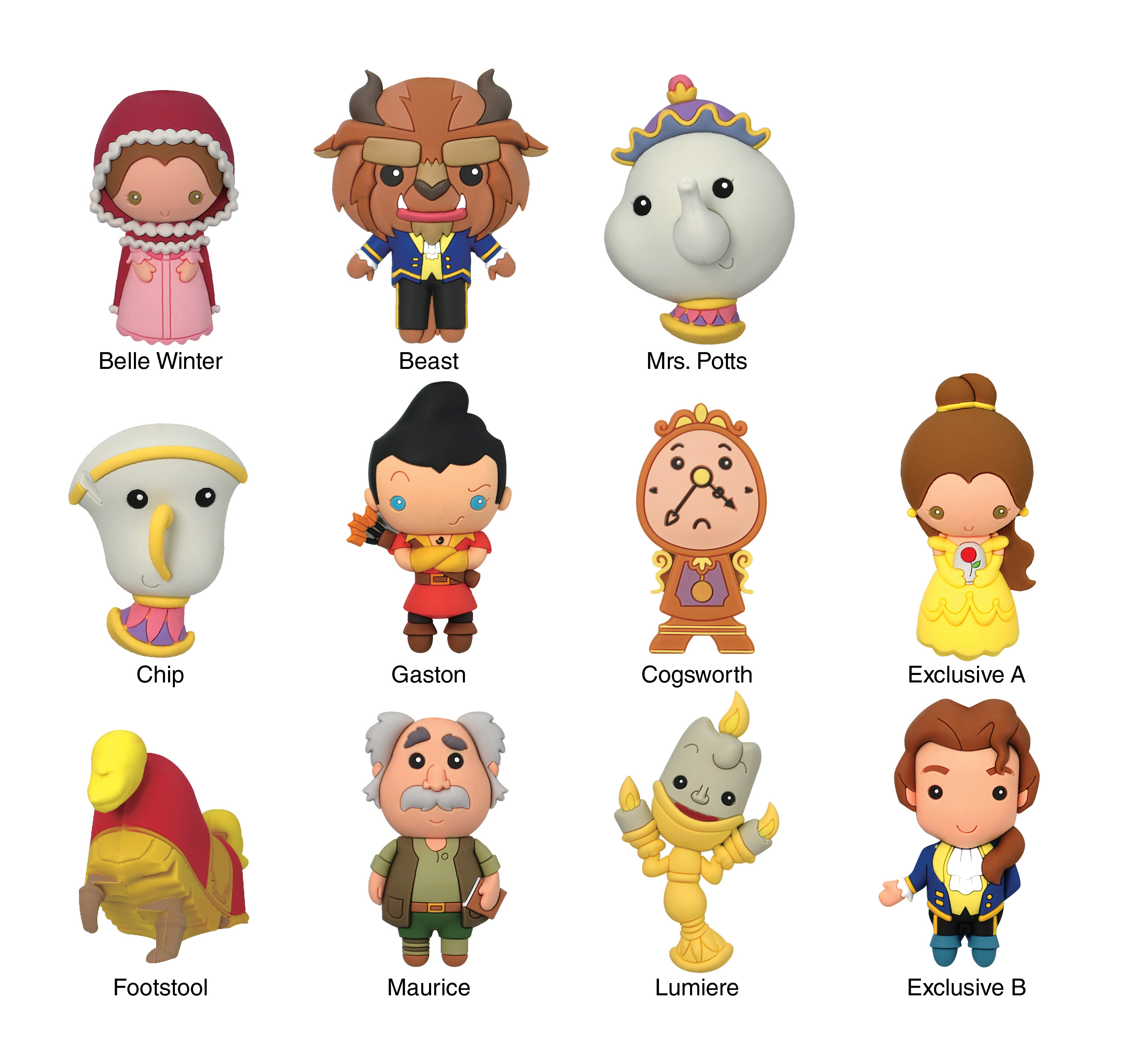 Disney Collection 3d Foam Key Rings Products By License
