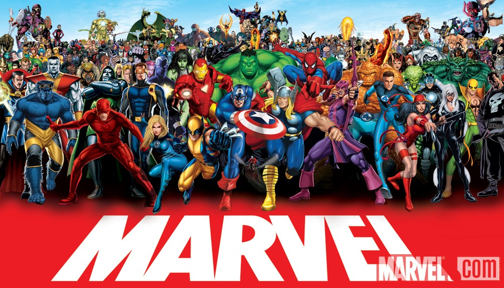 Marvel Products By License