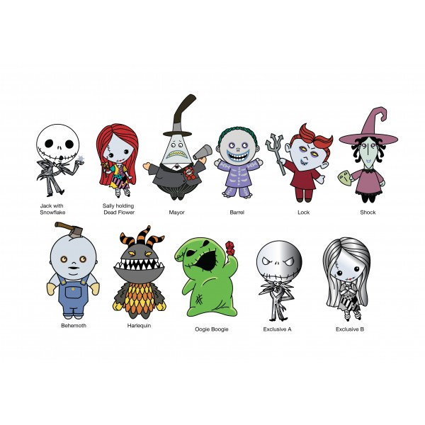 25th Anniversary Nightmare Before Christmas Series 3