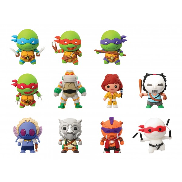 Teenage Mutant Ninja Turtle Series 2 3D Foam Key Rings