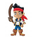 Jake Pirate Soft Touch PVC Magnet