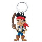 Jake Pirate Soft Touch PVC Keyring