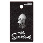 Homer Simpson Pewter Lapel Pin