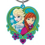 Elsa & Anna Soft Touch PVC Key Ring
