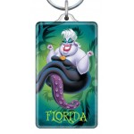 Ursula Lucite Key Ring - Florida