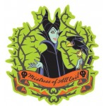 Maleficent with Crow Soft Touch PVC Key Ring