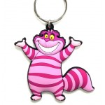 Cheshire Cat Soft Touch PVC Key Ring