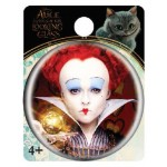 Red Queen Single Button Pin