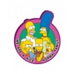 The Simpson Family Soft Touch Magnet