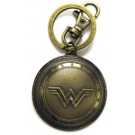 Wonder Woman Shield Pewter Key Ring