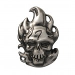 Diablo Pewter Lapel Pin
