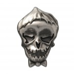 Joker Pewter Lapel Pin
