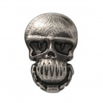 Killer Croc Pewter Lapel Pin