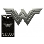 .New Wonder Woman Logo Pewter Lapel Pin - COMING SOON!