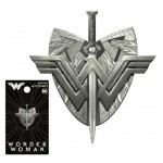 .New Wonder Woman Shield & Sword Pewter Lapel Pin - COMING SOON!