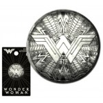 .New Wonder Woman Shield Pewter Lapel Pin - COMING SOON!