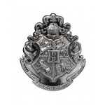 Hogwarts School Crest Pewter Lapel Pin