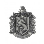 Hufflepuff Crest Pewter Lapel Pin