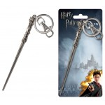 Harry's Wand Pewter Key Ring