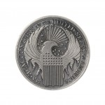 Magical Congress Crest Deluxe Pewter Lapel Pin