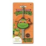 Michelangelo Teenage Mutant Ninja Turtle Soft Touch Key Holder