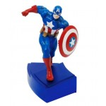 Avengers A - Captain America Resin Paperweight