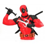 New! Deadpool Bust Bank