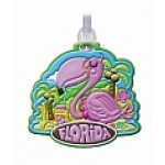 Flamingo Travel Buddy Bag Tag