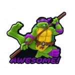 Donatello Soft Touch PVC Magnet