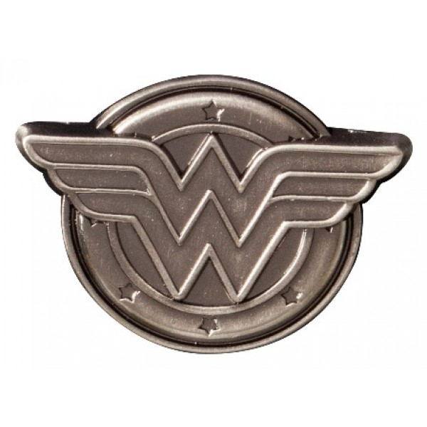 Fantastic Wonder Woman Logo Pewter Lapel Pin FC78